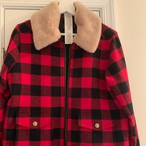 Woman Pendleton's jacket